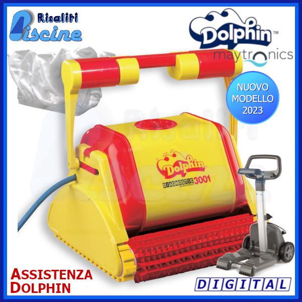 Dolphin Diagnostic 3001 Robot Pulitore Piscina www.risaliti.com