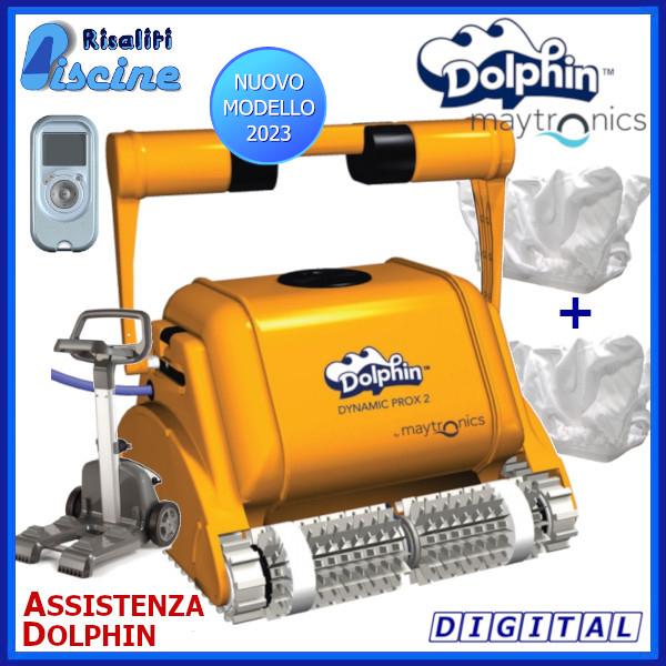 Dolphin ProX2 Gyro Robot Pulitore Piscina www.risaliti.com