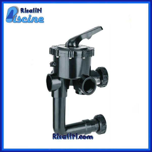 Valvola selettrice manuale Astral 2 filtro piscine Interasse 235 mm www.risaliti.com