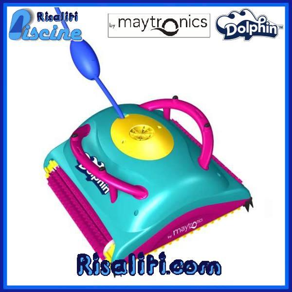 Dolphin Swift Robot Pulitore Piscina elettrico piscine 12x6 www.risaliti.com