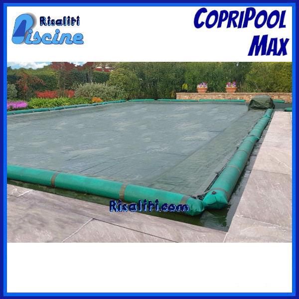 Coperture Invernale Tubolari CopriPool Max Piscine Interrate www.risaliti.com