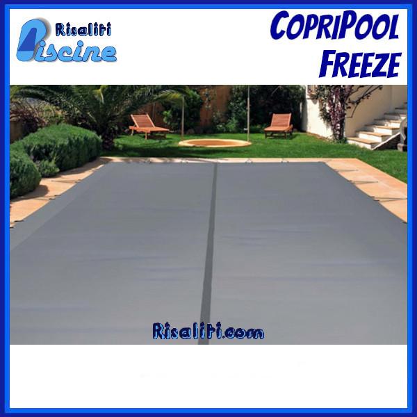 Coperture Invernale Picchetti CopriPool Freeze Piscine Interrate www.risaliti.com