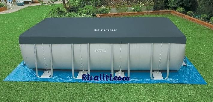 10756 telo copertura invernale piscina fuoriterra ultra for Piscine intex rigide