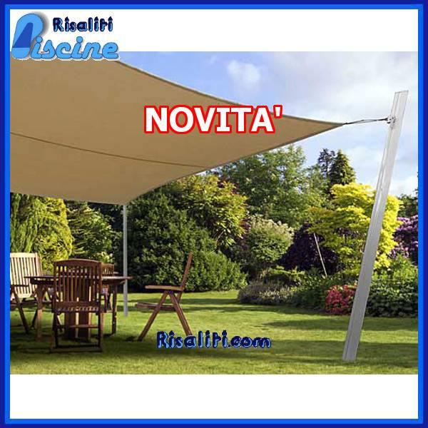 Nuovo sistema di ombreggiatura a Vela Airone www.risaliti.com