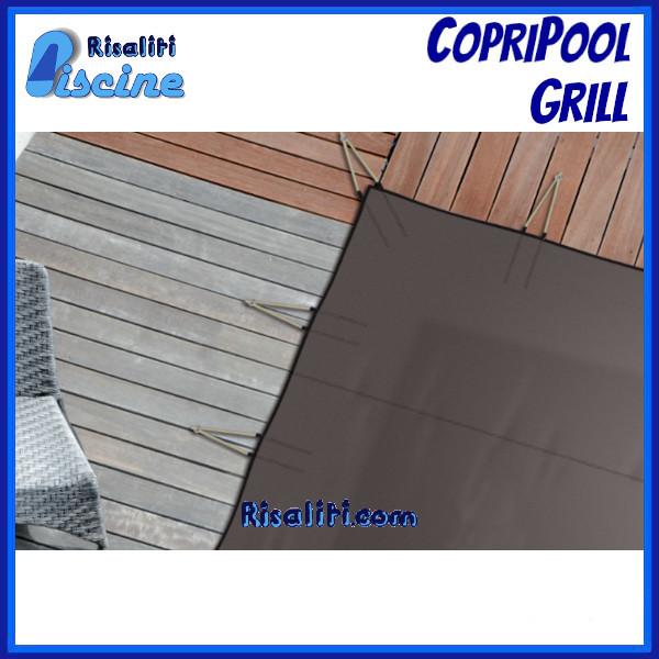 Copertura Sicurezza Invernale Piscina CopriPool Grille www.risaliti.com
