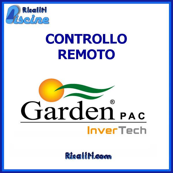 Sistema Controllo Remoto Universale Garden Pac www.risaliti.com